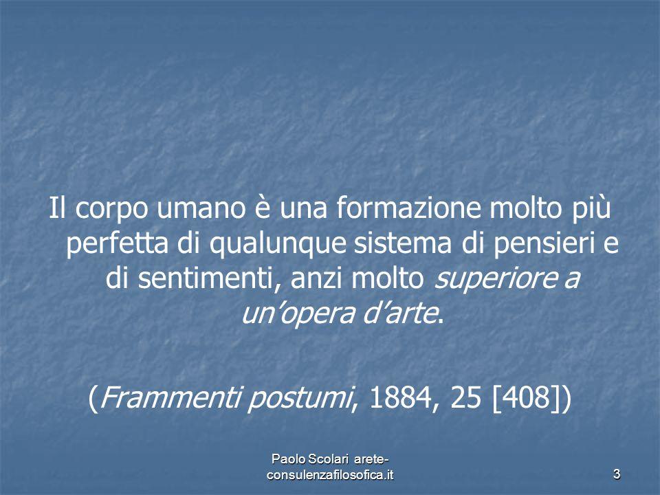 (Frammenti postumi, 1884, 25 [408])